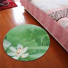 NBE Runder Teppich im chinesischen Stil matten