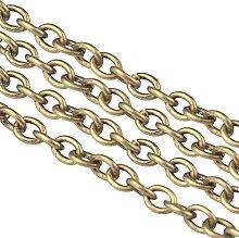 nbeads 100m Bronze vergoldet Eisen Metall