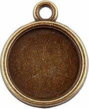 nbeads 769pcs/kg Vintage Antik Bronze Legierung