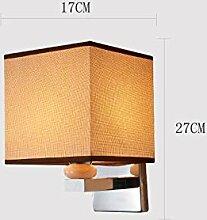 NBKLS Schlafzimmerwand Lampe, LED-Wandlampe,
