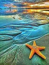 NC83 DIY Diamant Malerei Meer Hintergrund voller