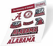 NCAA Aufkleber University of Alabama Vinyl