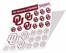 NCAA Aufkleber University of Oklahoma Vinyl