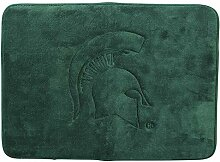 NCAA Memory Foam Badematte Teppich (Michigan State