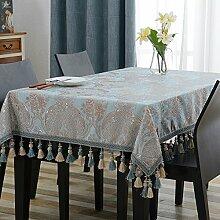nclcxn Damast Tischdecke Dekoration Für