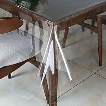 nclcxn Ultra-thin Durchsichtige Tischtücher