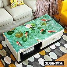 Nclon 3D PVC Wachstuch Tischdecke,Wasserdichtes