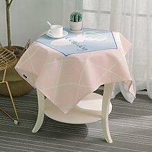 Nclon Baumwolle Leinen Tischdecke, Nordische