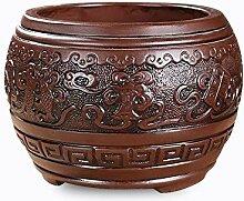 Nclon Chinesischer Stil Keramikbeschichtung Lila