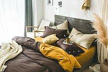 Nclon Festen Muster Bettwäsche Bettbezug, 100%