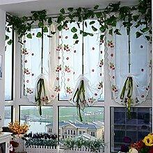Nclon Höhe Verstellbar Vorhänge gardinen,Licht
