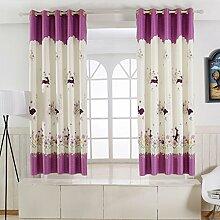 Nclon Kinder Vorhänge gardinen,Blickdicht Licht