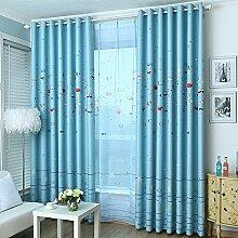 Nclon Kinderzimmer Vorhänge gardinen,Licht