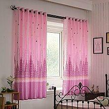 Nclon Kurze Vorhänge gardinen,Licht durch