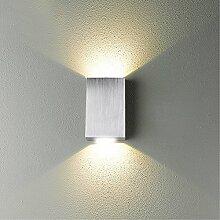 Nclon Moderne Einfache Wandleuchte,Led 2w Lichter