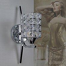 Nclon Moderne Kreativ Kristall Wandleuchte,E27