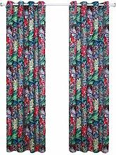 Nclon Ösen Vorhänge gardinen,Farbe Drucken