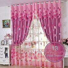 Nclon Prinzessin-Stil Vorhänge gardinen,Licht