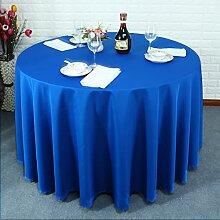Nclon Reine Farbe Runden Tischdecke,Westliches