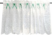 Nclon Reinweiß Vorhänge gardinen,Amerikanischen