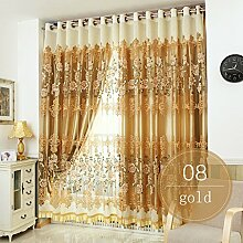 Nclon Romantisch Voile Vorhänge gardinen,Licht