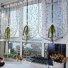 Nclon Voile Vorhänge gardinen,Licht Blockiert
