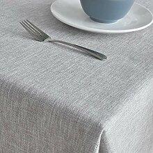 Nclon Volltonfarbe Esstisch Tischdecke,Nordische