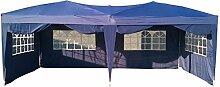 ND Pavillon faltbar Garden RoyalPartytent Easy Up 3x6 m, blau