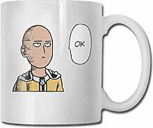 Ne Punch Man Saitama Ok Lustige Kaffeetasse, 11 OZ
