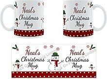 Neal'Weihnachten Becher, Tasse, Keramik,