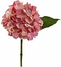 "Nearly Natural 12"" Hydrangea Artificial Flower"