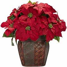 Nearly Natural 1264 Blumengesteck mit dekorativer
