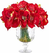 Nearly Natural 14in. Amaryllis Bouquet Artificial