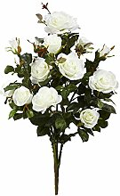 "Nearly Natural 28"" Garden Rose Artificial Plant"