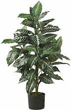 Nearly Natural 6542 Zebra-Pflanze aus Seide, 91