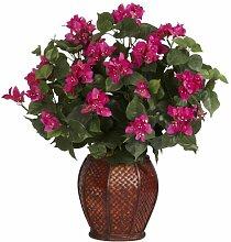 Nearly Natural 6652 Bougainvillea mit Vase,