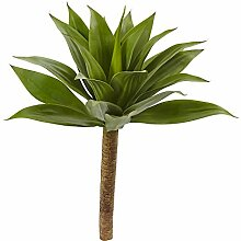 Nearly Natural Agave Pflanze mit Stiel, 81,3 cm