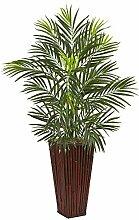Nearly Natural Areca Palm Artificial Planter 1