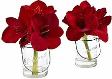 Nearly Natural Fast Natur 4547-s2Amaryllis in