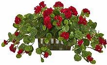 Nearly Natural Geranium Artificial Decorative