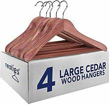 Neaties Kleiderbügel, amerikanisches Zedernholz,