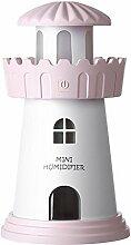 Nebel Volumen Nachtlicht Leuchtturm Modellierung Auto Luftbefeuchter mediterranen Stil , pink