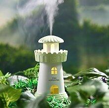 Nebel Volumen Nachtlicht Leuchtturm Modellierung Auto Luftbefeuchter mediterranen Stil , green