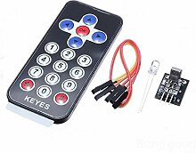 Nebelausstoß:  Kabellose Fernüberwachung für Arduino/IR/Infrared, Remote Control Wireless Receiver Module For Arduino Ki