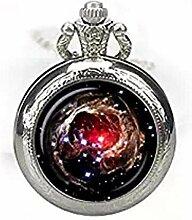 Nebula Helix Taschenuhr Halskette Nebula Watch