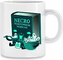 Necronomnomnomnomicon Kaffeebecher Becher Tassen
