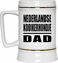 Nederlandse Kooikerhondje Dad - Beer Stein