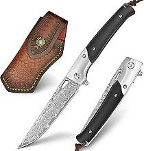 NedFoss Damast Taschenmesser & Damastmesser