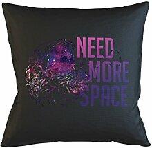 Need More Space Introvert Schlafsofa Home Décor Kissen Kissenbezug Fall Schwarz