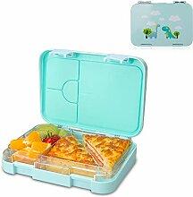 NEEGO Brotdose Kinder mit 4 Fächern Bento Box